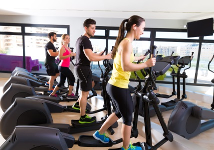 use of an elliptical machine