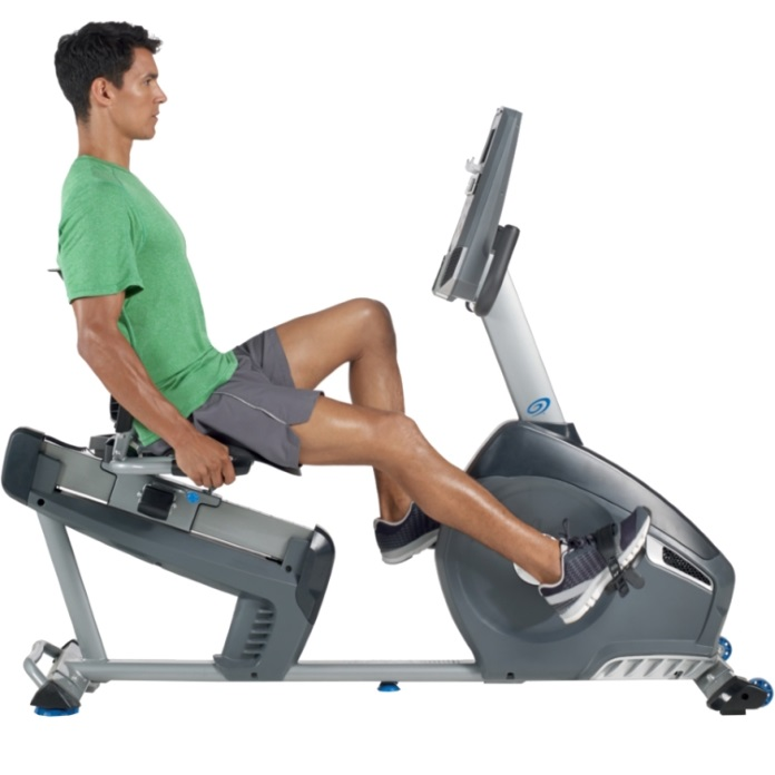 nautilus r614 recumbent exercise bike review