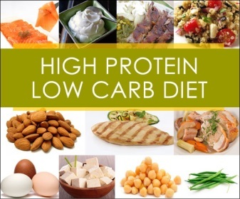 low-carbohydrate and high-protein nutrition plan