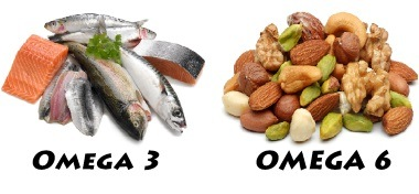 omega 3 and omega 6 fatty acids